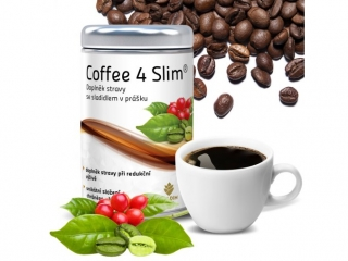 Coffee4slim, 120g, 60 porcí
